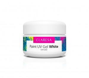 CLARESA PAINT GEL WHITE 5 ml